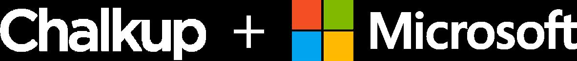 Chalkup + Microsoft